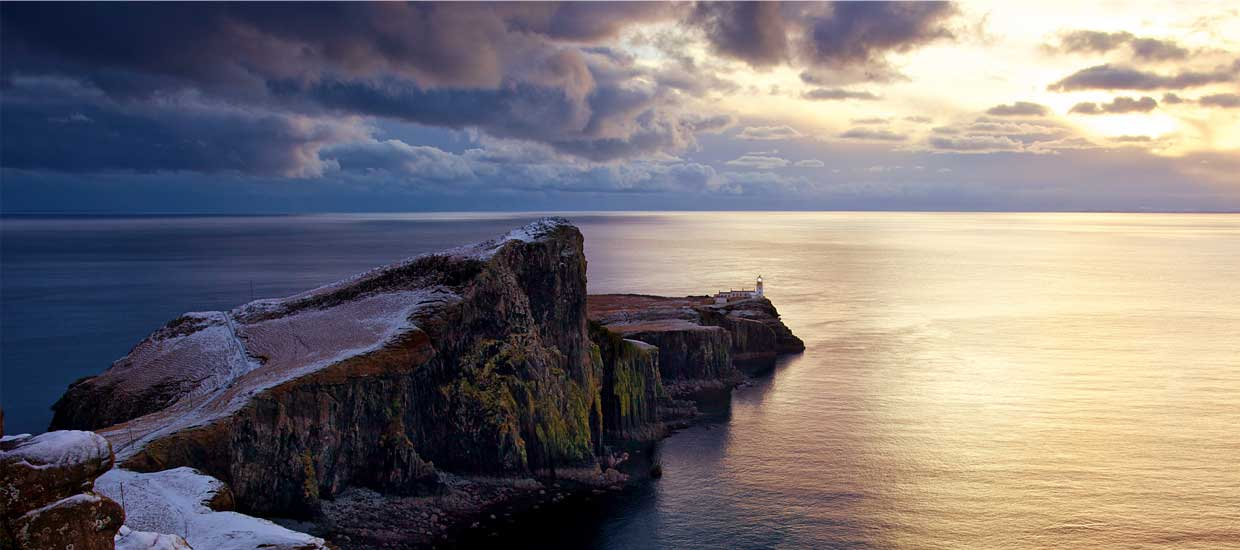 Neist Point Lighthouse on Skye